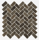Genesis Brown Mosaico Cross 31.5X29.7X10