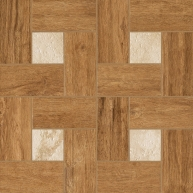 Nl-Wood Honey Inserto Glamour 45X45