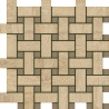 Travertino Romano Mosaico Lounge 30.5X30.5